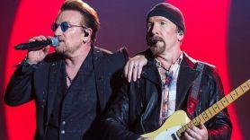 U2, photo by David Brendan Hall
