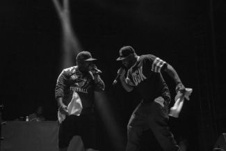 The Wu-Tang Clan // Photo by Lior Phillips