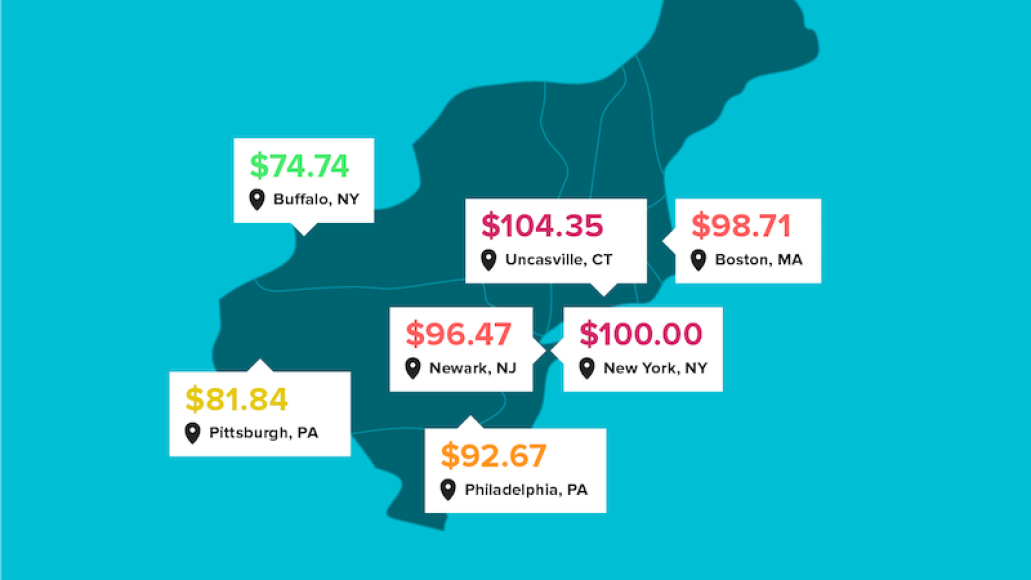 concert prices difference us northeast Heres how concert ticket prices vary across the US
