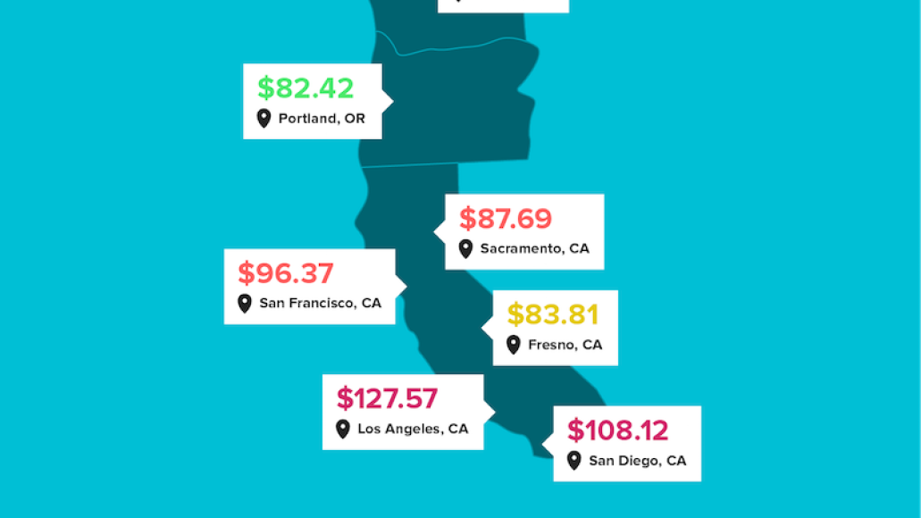 concert ticket prices west coast Heres how concert ticket prices vary across the US