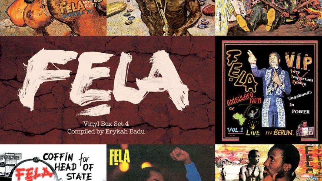 fela kuti box set artwork Erykah Badu curates Fela Kuti vinyl box set