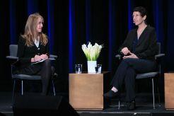 Kristine McKenna and Sabrina S. Sutherland // Photo by Heather Kaplan