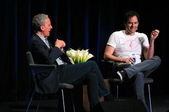 Bob Roth and Bill Hader // Photo by Heather Kaplan