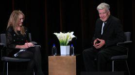 Kristine McKenna and David Lynch, photo by Heather Kaplan