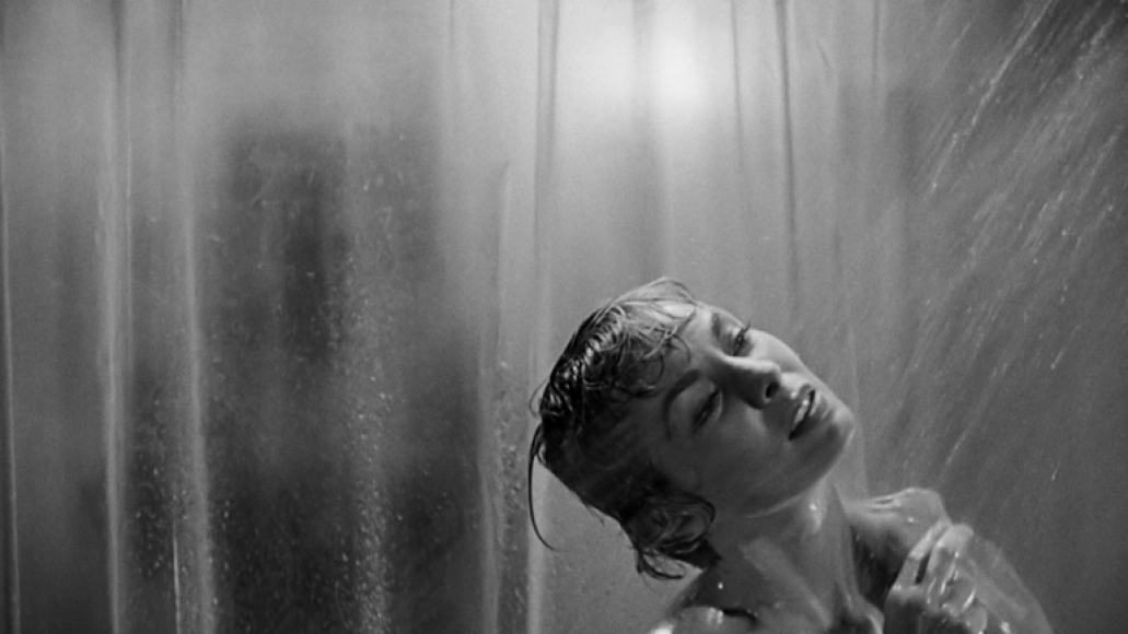psycho shower The 100 Scariest Movies of All Time