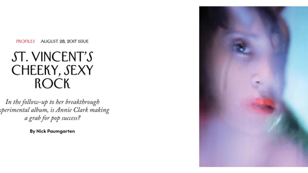 screen shot 2017 10 08 at 8 57 10 pm 10 Times St. Vincent Gave No Fucks