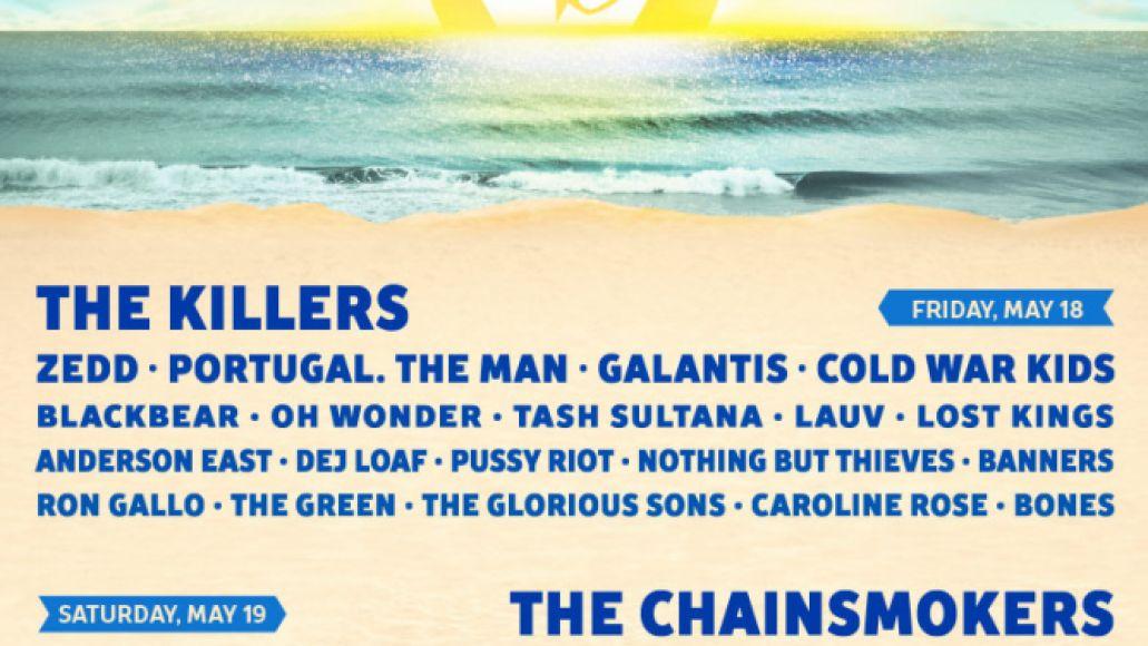 hangout 2018 Hangout Music Festival reveals 2018 lineup: Kendrick Lamar, The Killers, and St. Vincent