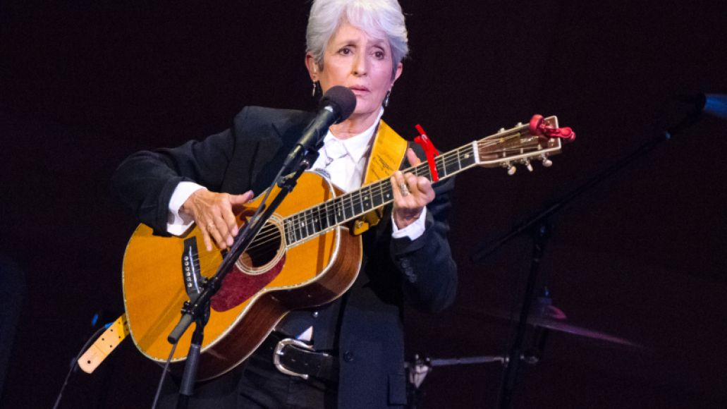 joan baez pathway to paris ben kaye2 Michael Stipe, Patti Smith, and Others Promote Climate Change Awareness at NYCs Carnegie Hall (11/5)