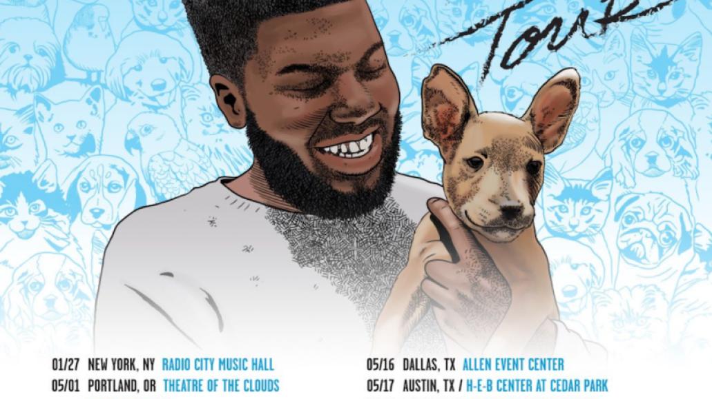 khalid 2018 roxy tour dates Khalid announces 2018 North American Roxy tour