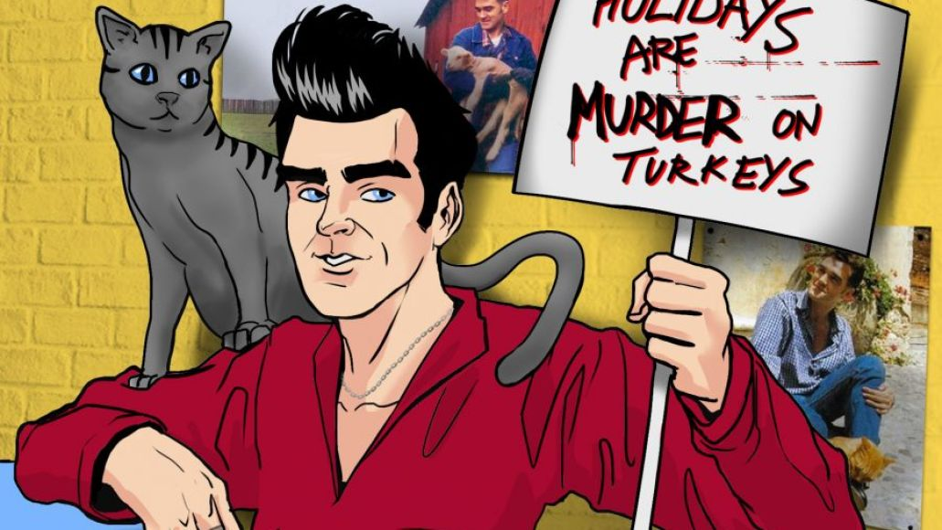 Morrissey teams with PETA for new ad campaign Holidays Are Murder on Turkeys