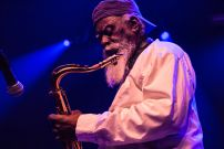 Pharoah Sanders // Photo by Lior Phillips
