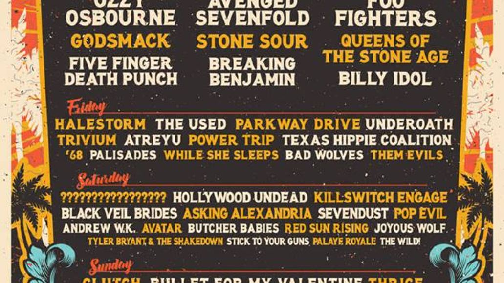 welcome to rockville Welcome to Rockvilles 2018 lineup: Foo Fighters, QOTSA, Ozzy Osbourne to headline