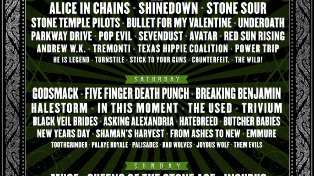carolina rebellion Carolina Rebellion reveals 2018 lineup: Muse, QOTSA, Alice in Chains, Incubus among highlights