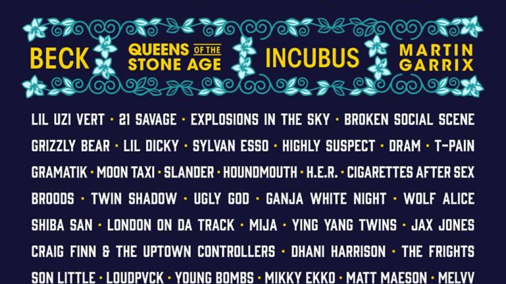 in bloom Houstons In Bloom Festival reveals 2018 lineup: QOTSA, Beck, Incubus among highlights