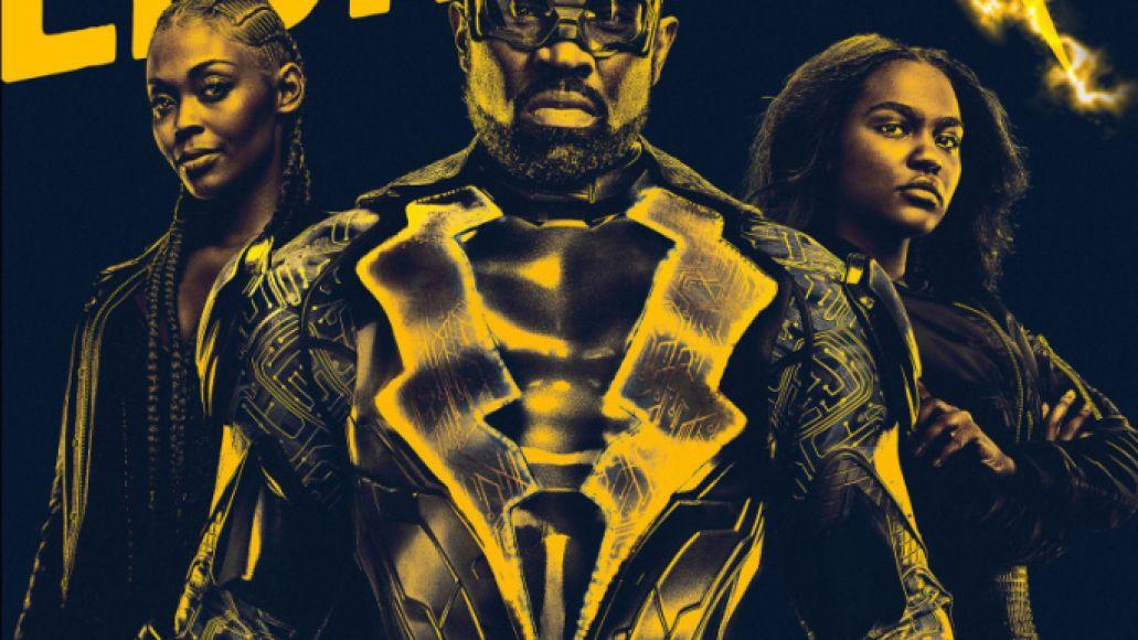 black lightning poster Black Lightning Offers a Strong Superhero Family for the Black Lives Matter Era