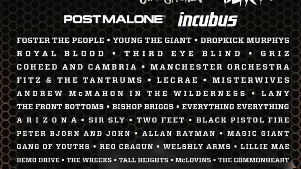 bunbury 2018 Bunbury reveals 2018 lineup: Jack White, Blink 182, Incubus, Coheed and Cambria among highlights