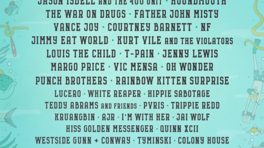 f18 lineup 1080x1620 Forecastle Festival reveals 2018 lineup: Arcade Fire, Modest Mouse, Courtney Barnett among highlights