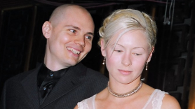 Billy Corgan and D'arcy Wretzky