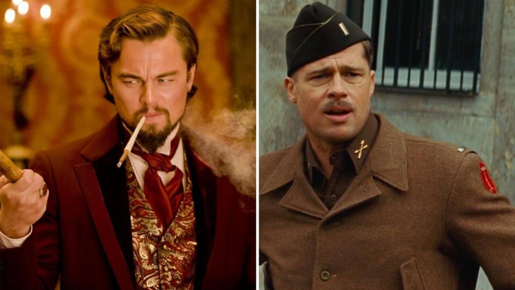 Leonard DiCaprio and Brad Pitt