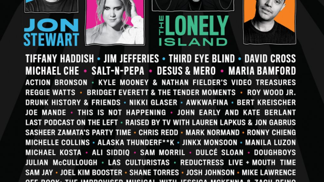 cccf2018 wild posting 24x36  for press 72dpi The Lonely Island to make live debut at Clusterfest 2018, alongside Jon Stewart, Kyle Mooney and Nathan Fielder