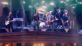 Foo Fighters at the BRIT Awards