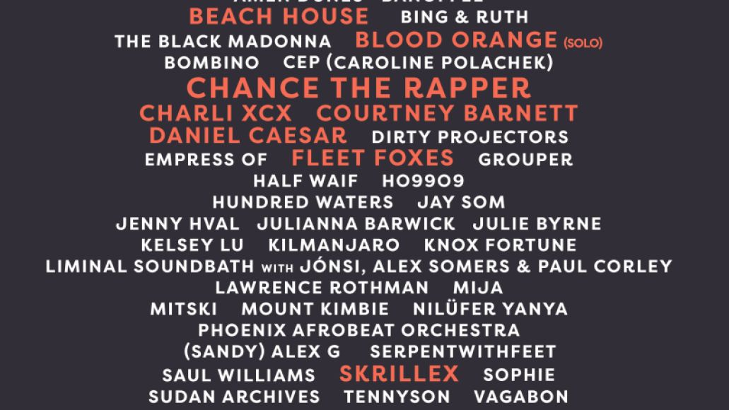 FORM Arcosanti reveals 2018 lineup: Chance the Rapper, Charli XCX, Beach House, and more