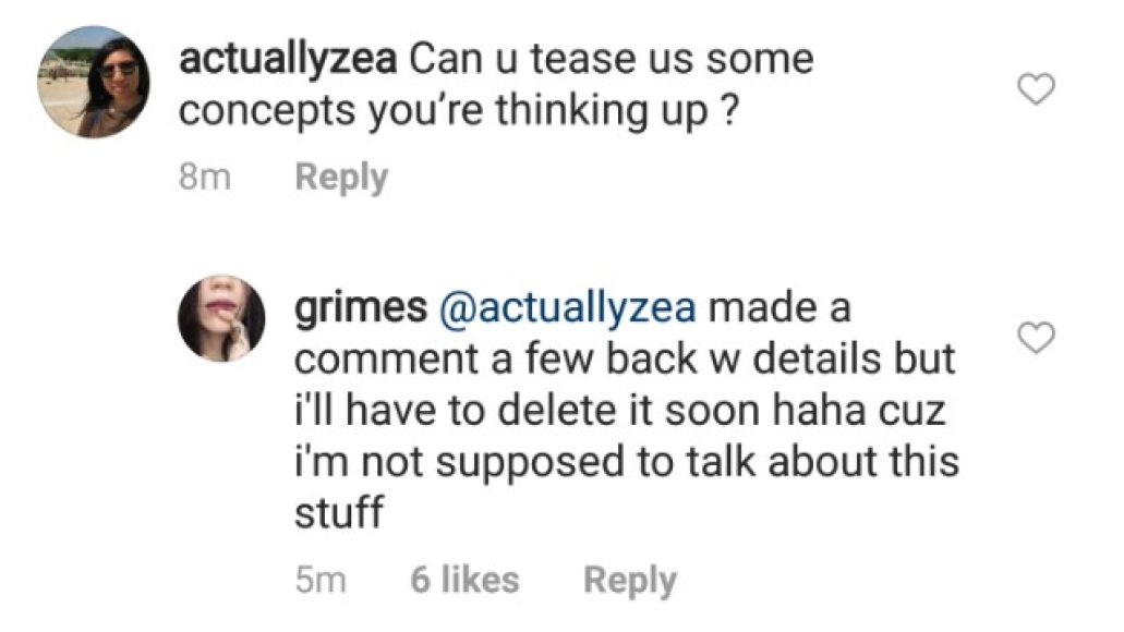 grims3 1519577260 640x375 Grimes says her final album for my shit label will be highly collaborative