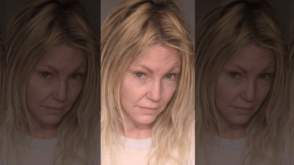 Heather Locklear's mugshot, via the Venture County Sheriff's Office