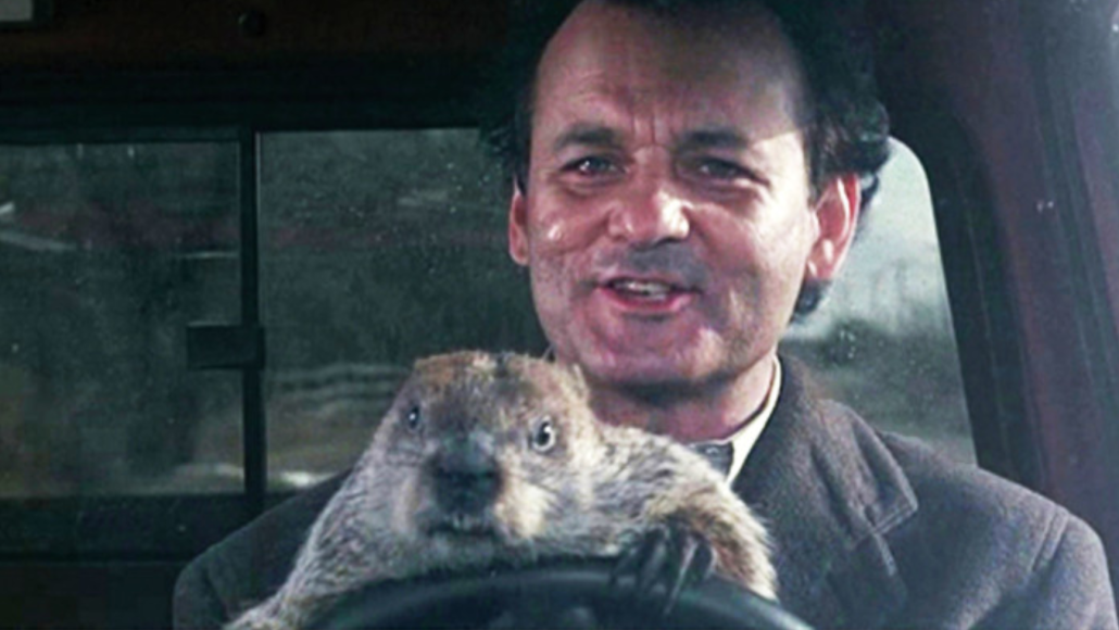 Groundhog Day, courtesy of Columbia Pictures