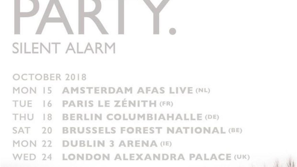 Bloc Party announce Silent Alarm tour, featuring full performances of the album