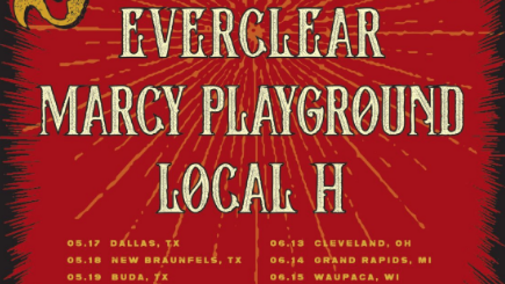 everclear tour Everclear, Local H, and Marcy Playground are going on tour together