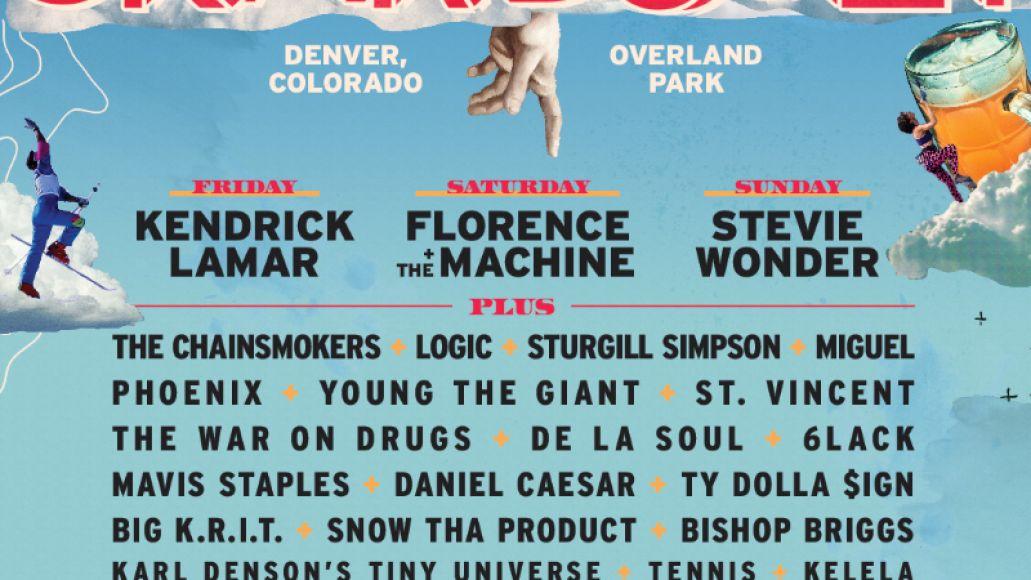 gdz18 admat 1080x10801 Kendrick Lamar, Florence + the Machine, and Stevie Wonder lead Grandoozys inaugural lineup