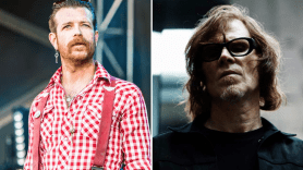 Jesse Hughes, photo by Philip Cosores, and Mark Lanegan