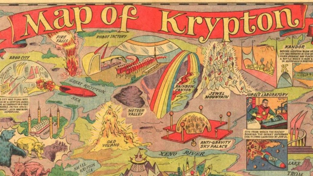 map of krypton scaled 1000 Krypton 101: A Brief History of Supermans Home Planet