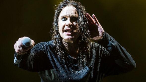 Ozzy Osbourne, photo by David Brendan Hall