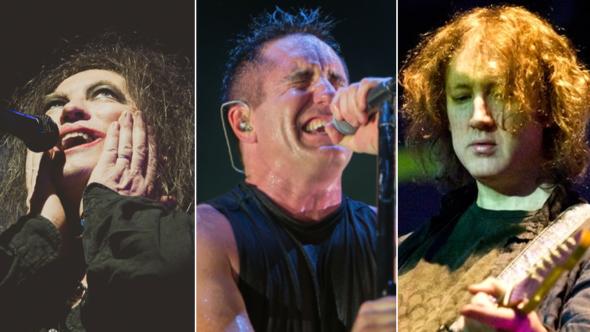 The Cure (Debi Del Grande), Nine Inch Nails (Philip Cosores), My Bloody Valentine (Carsten Windhorst)