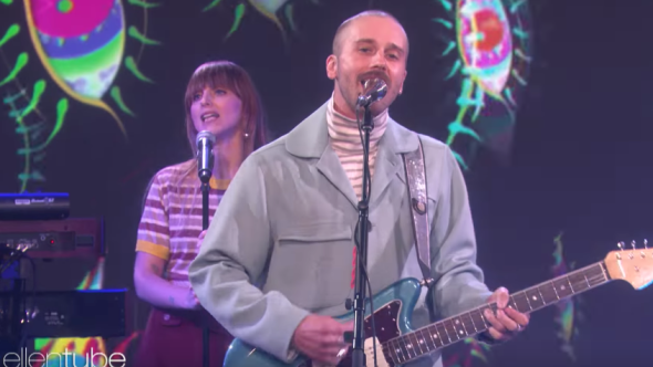 """Portugal. the Man perform """"Live in the Moment"""" on The Ellen Show"""