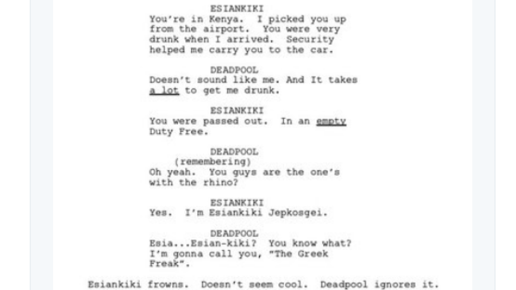 screen shot 2018 03 28 at 9 53 24 am Donald Glover shares script for finale to canceled Deadpool animated TV series