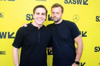 Andrew Corkin and Lars Knudsen // A Vigilante, photo by Heather Kaplan