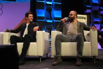 James Marsden and Jeffrey Wright James Marsden and Jeffrey Wright // Westworld, photo by Heather Kaplan