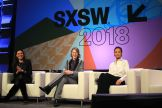 Lisa Joy, Evan Rachel Wood, and Thandie Newton // Westworld, photo by Heather Kaplan