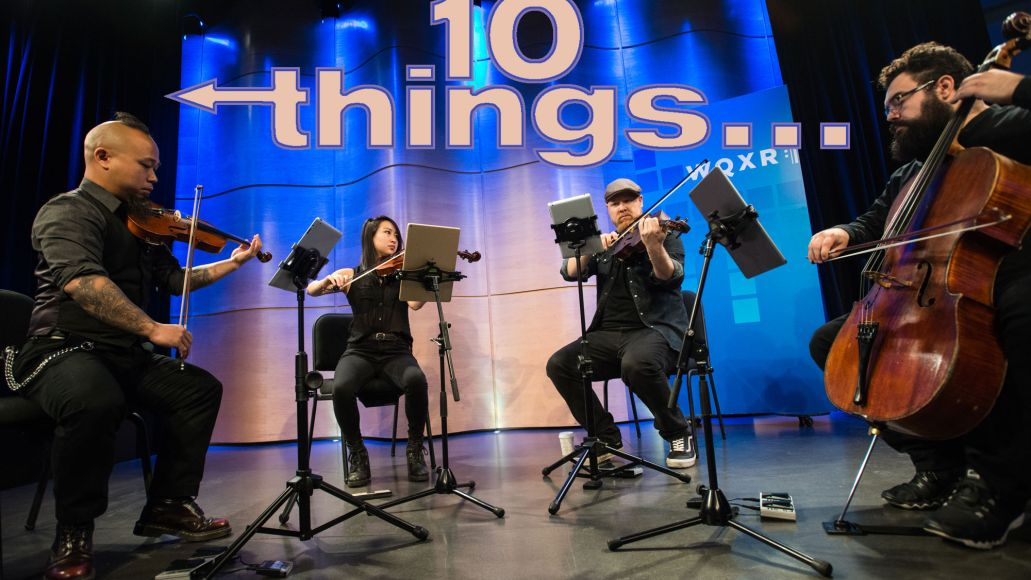 Vitamin String Quartet, photo by Toby Tenenbaum