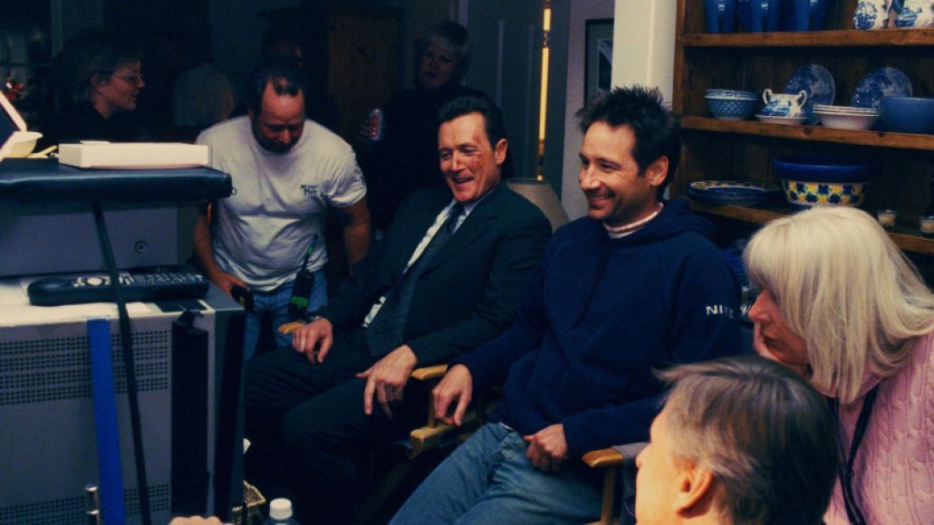 x files director 10 Years and 10 Questions with David Duchovny: On Garry Shandling, Bonnie Hunt, and Fighting for the Future