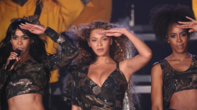 Beyonce reunites with Destiny's Child at Coachella