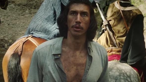Adam Driver in The Man Who Killed Don Quixote