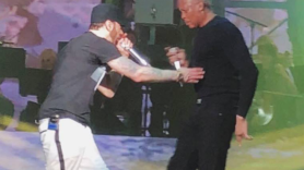 Eminem and Dr. Dre at Coachella 2018