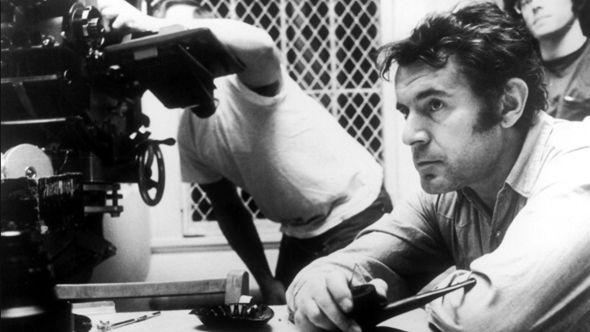 Miloš Forman on the set of One Flew Over the Cuckoo's Nest