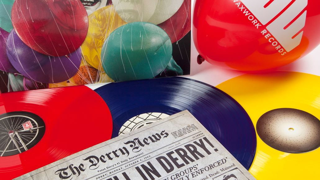 package with balloon Soundtrack for Stephen Kings It TV series getting first ever vinyl release