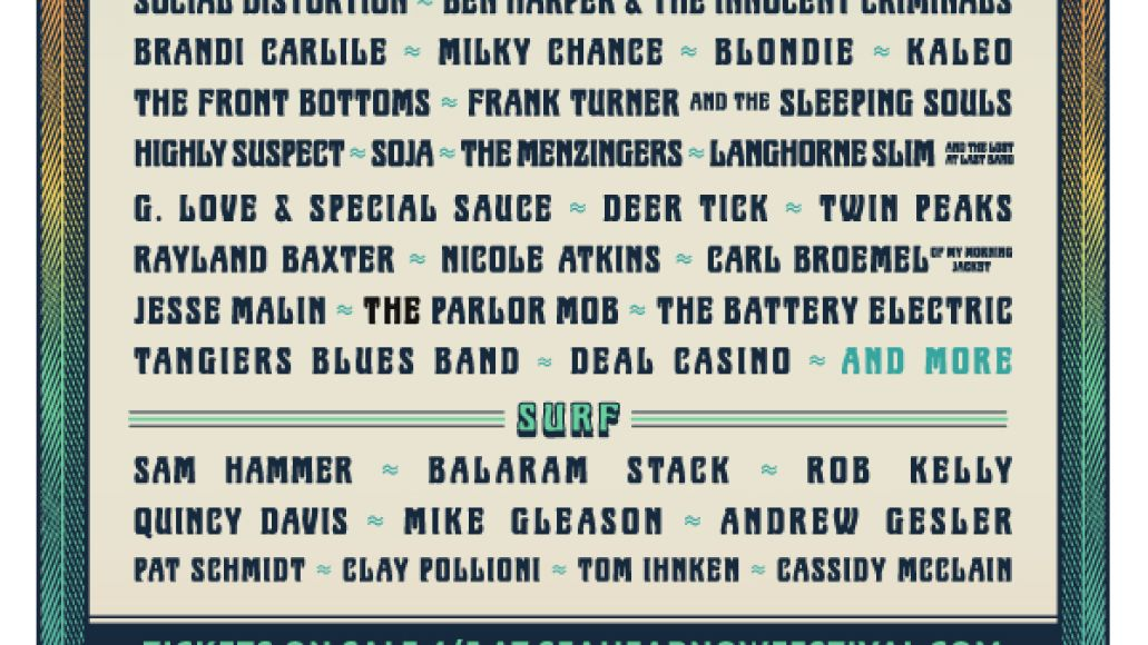 seahearnow Asbury Parks Sea.Hear.Now Festival reveals inaugural lineup