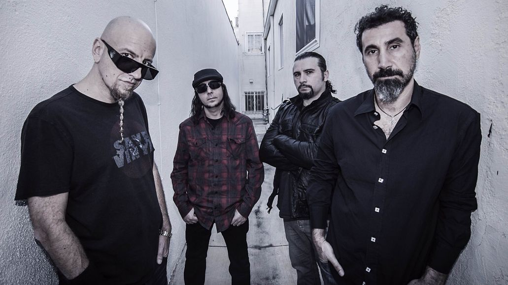 System of a Down, photo by Frank Maddocks